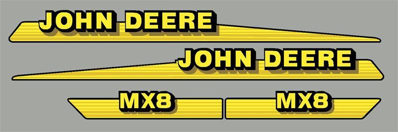 JD MX8 MOWER